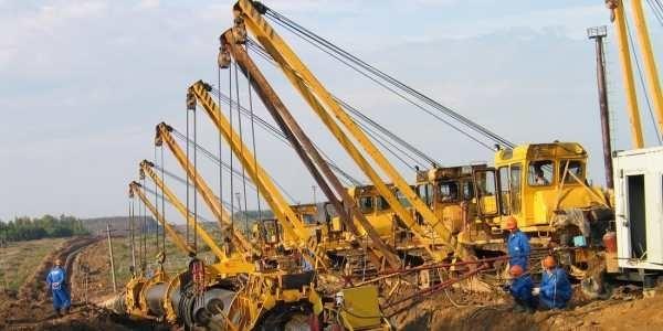 Машины для строительства и ремонта газопроводов